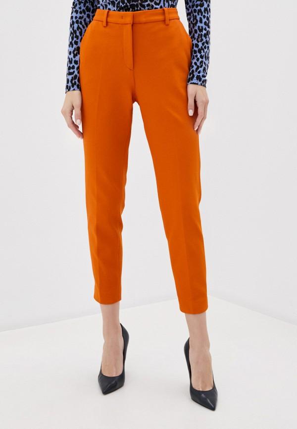 женские классические брюки rich&royal, оранжевые