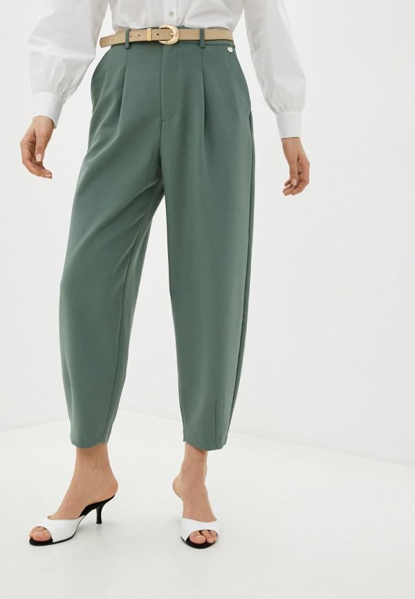 женские повседневные брюки rich&royal, зеленые