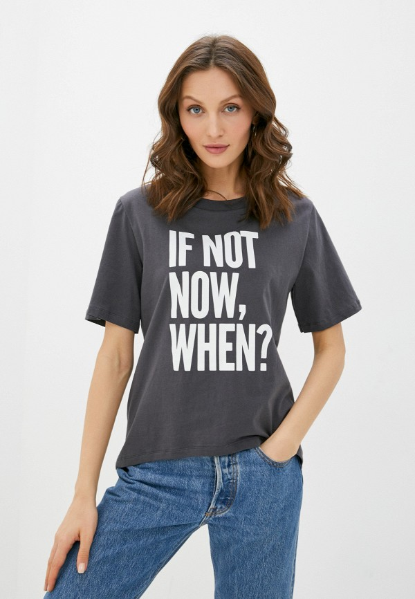 женская футболка rich&royal, серая
