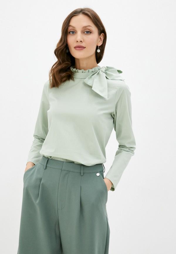 женская блузка rich&royal, зеленая