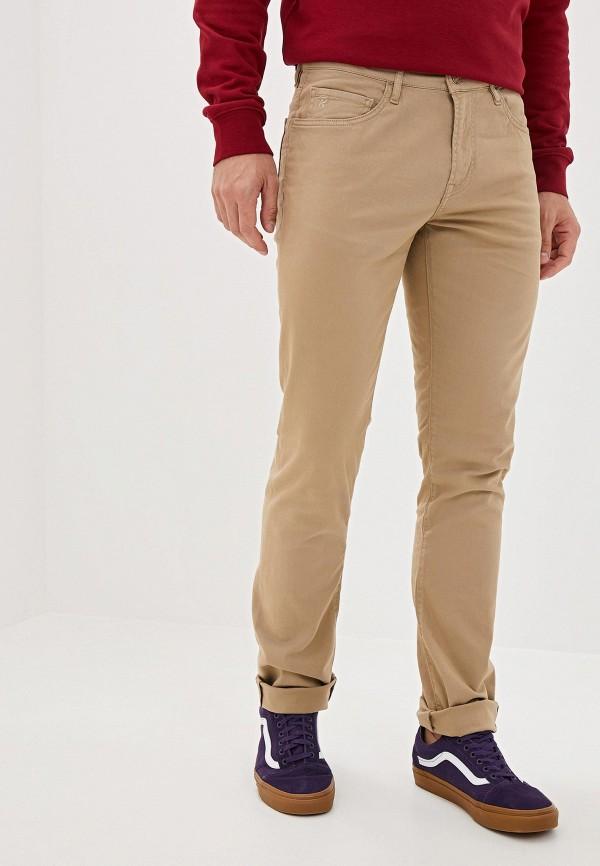мужские прямые брюки rifle, бежевые