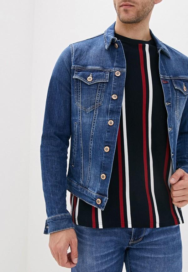 мужская куртка rifle, синяя