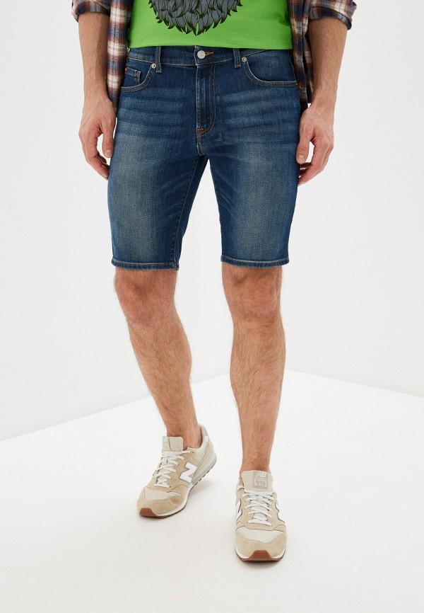 мужские джинсовые шорты rifle, синие