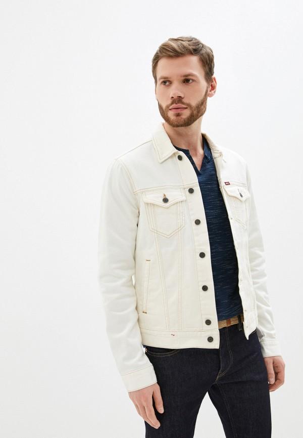 мужская джинсовые куртка rifle, белая