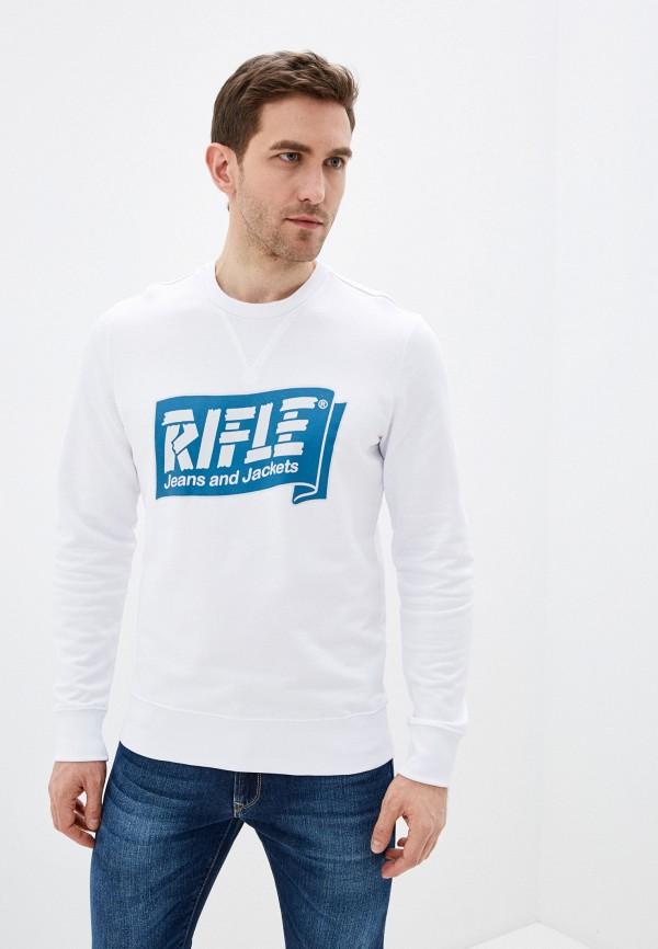мужской свитшот rifle, белый