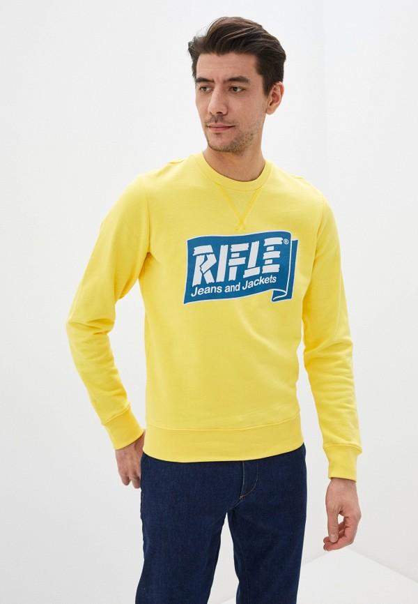 мужской свитшот rifle, желтый