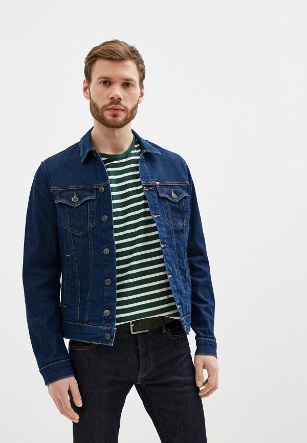 мужская джинсовые куртка rifle, синяя