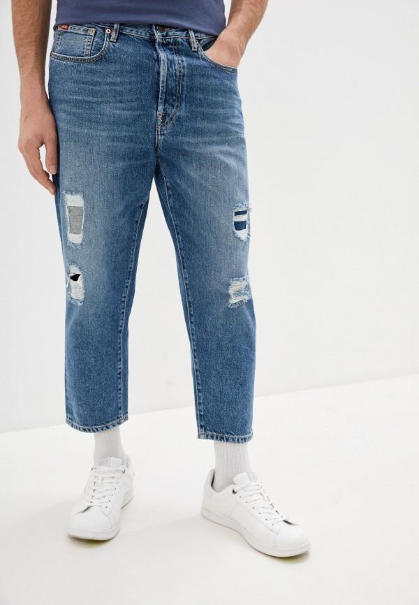 мужские прямые джинсы rifle, синие