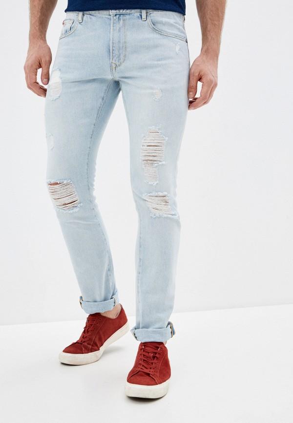 мужские прямые джинсы rifle, голубые