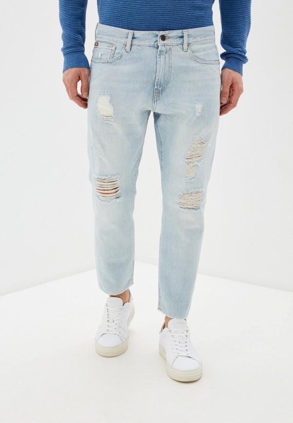 мужские зауженные джинсы rifle, голубые