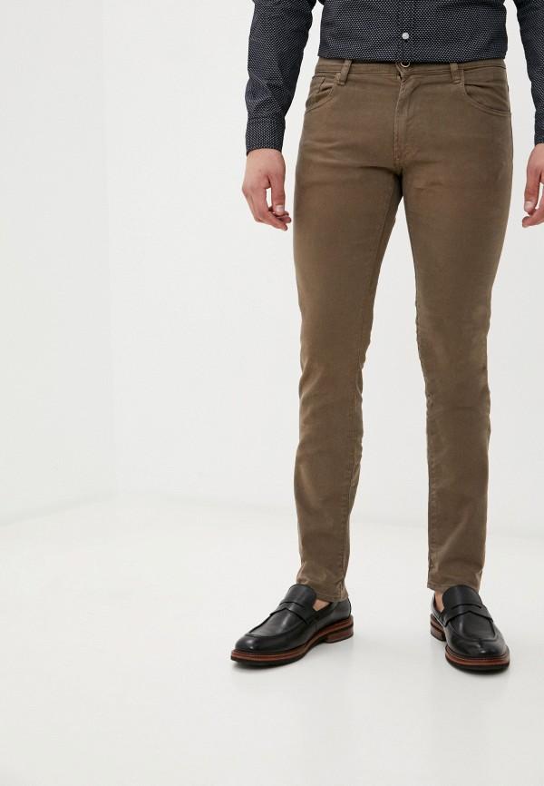 мужские зауженные джинсы rifle, коричневые