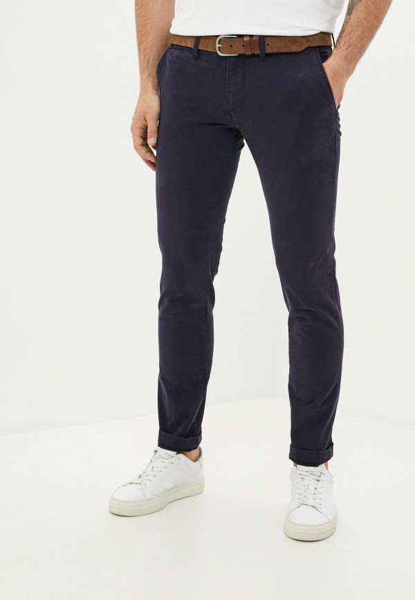 мужские брюки чинос rifle, синие