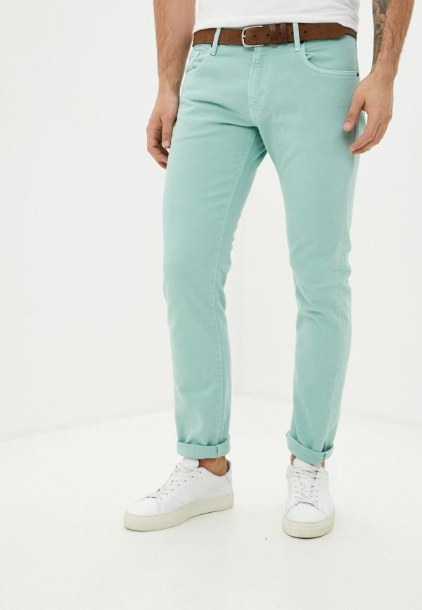 мужские повседневные брюки rifle, зеленые