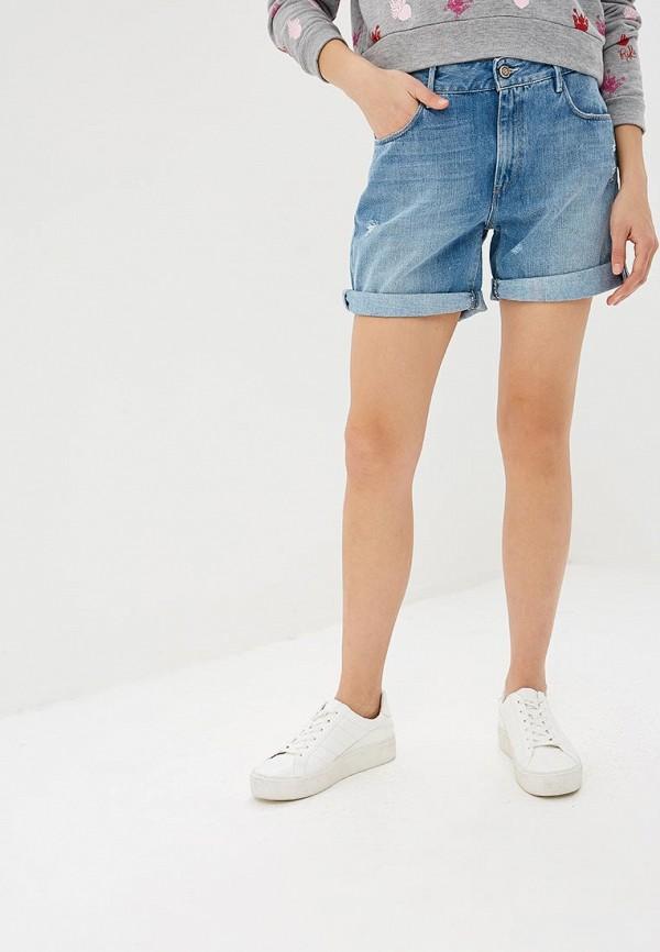 женские джинсовые шорты rifle, синие