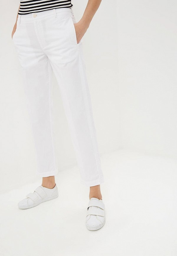 женские повседневные брюки rifle, белые