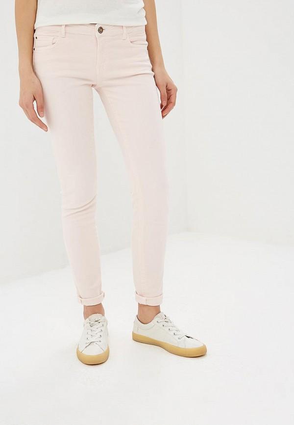 женские повседневные брюки rifle, розовые