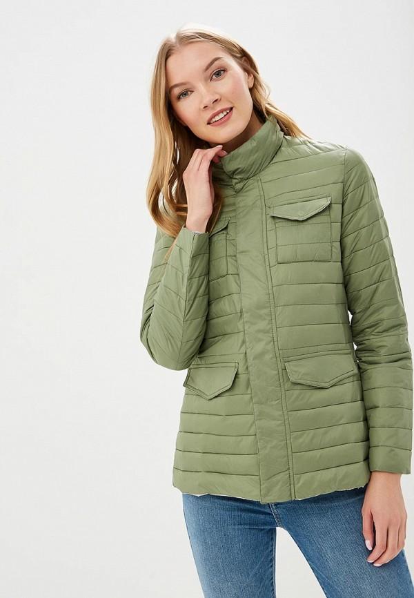 женская куртка rifle, зеленая