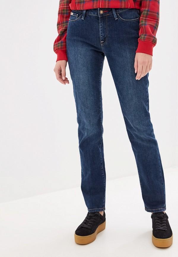 женские джинсы бойфренд rifle, синие