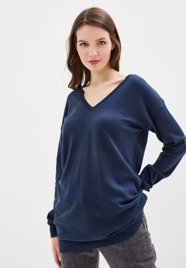 женский пуловер rifle, синий