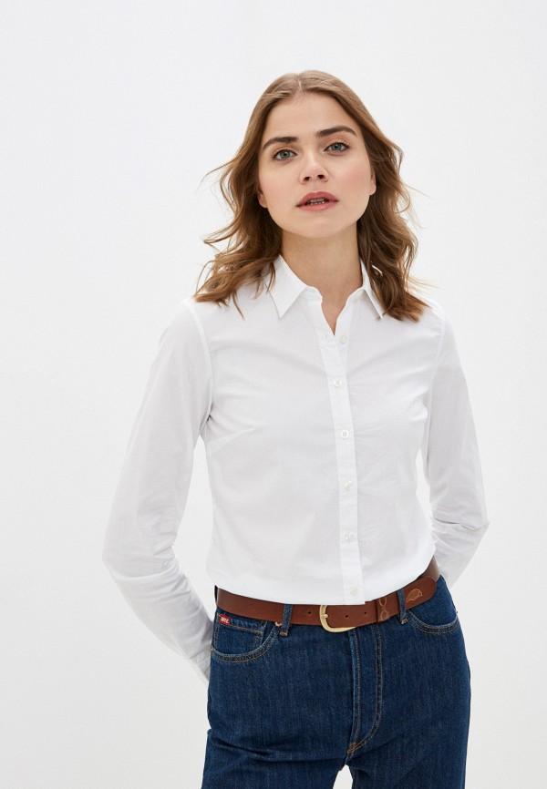 женская рубашка с длинным рукавом rifle, белая