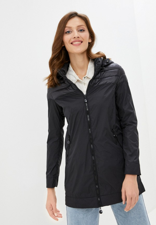 женская куртка rifle, черная