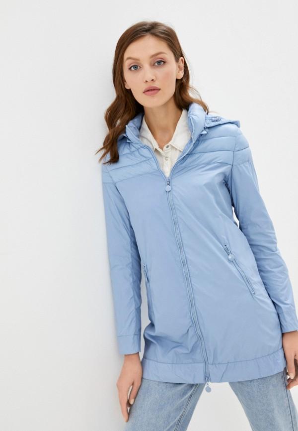 женская куртка rifle, голубая