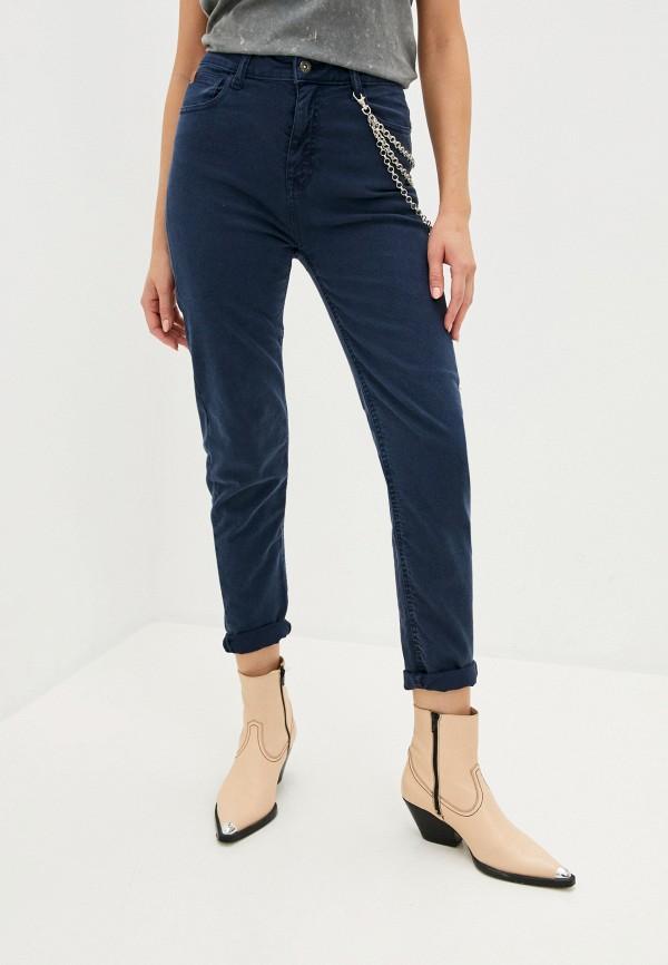 женские повседневные брюки rifle, синие