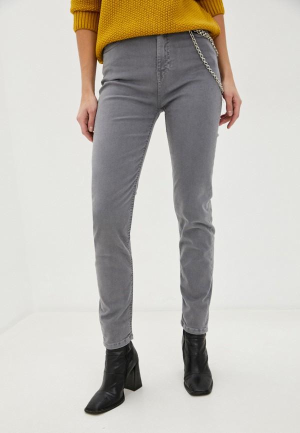 женские брюки rifle, серые