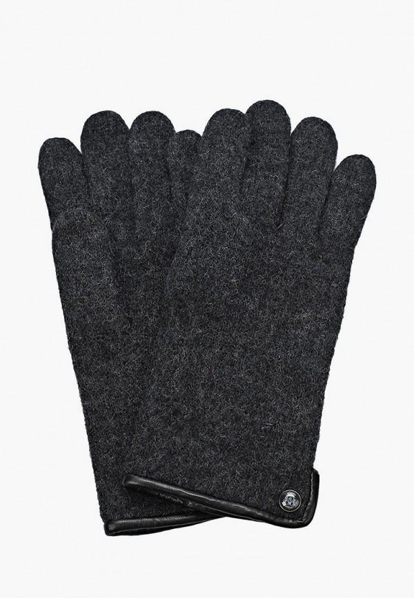 мужские перчатки roeckl, серые