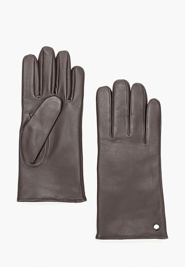 мужские перчатки roeckl, коричневые