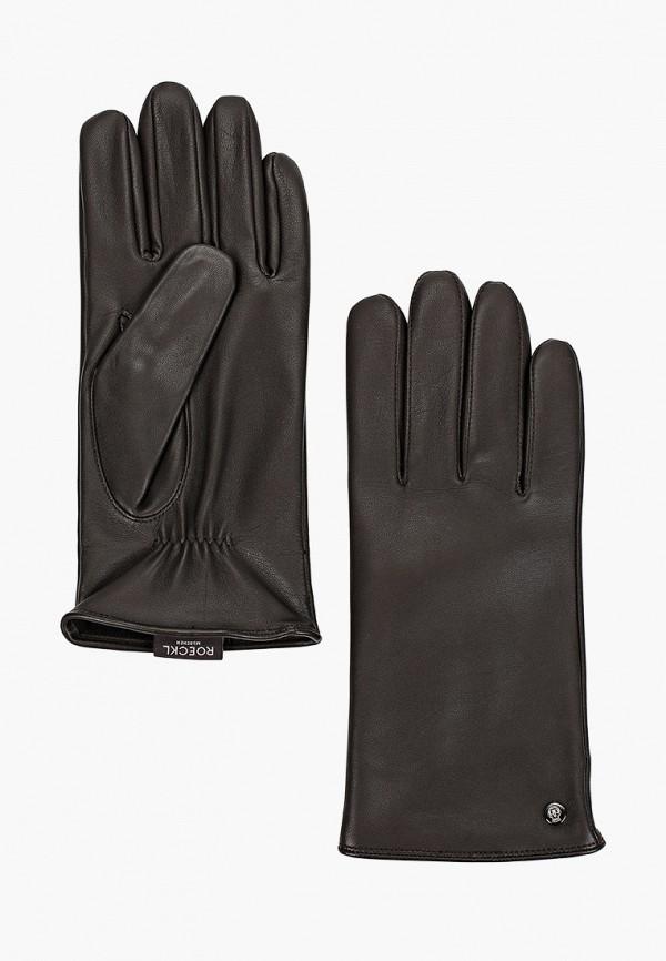 мужские перчатки roeckl, черные