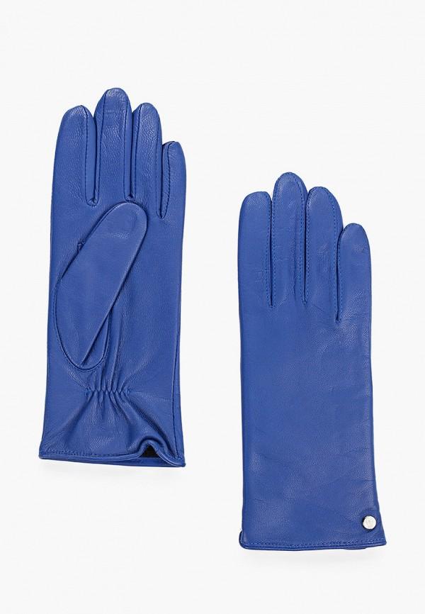 женские перчатки roeckl, синие