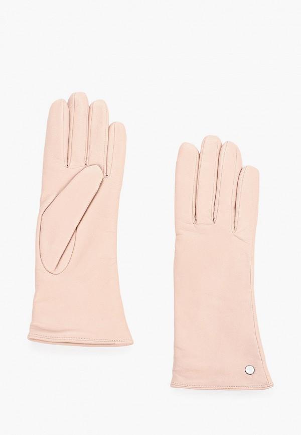 женские перчатки roeckl, бежевые