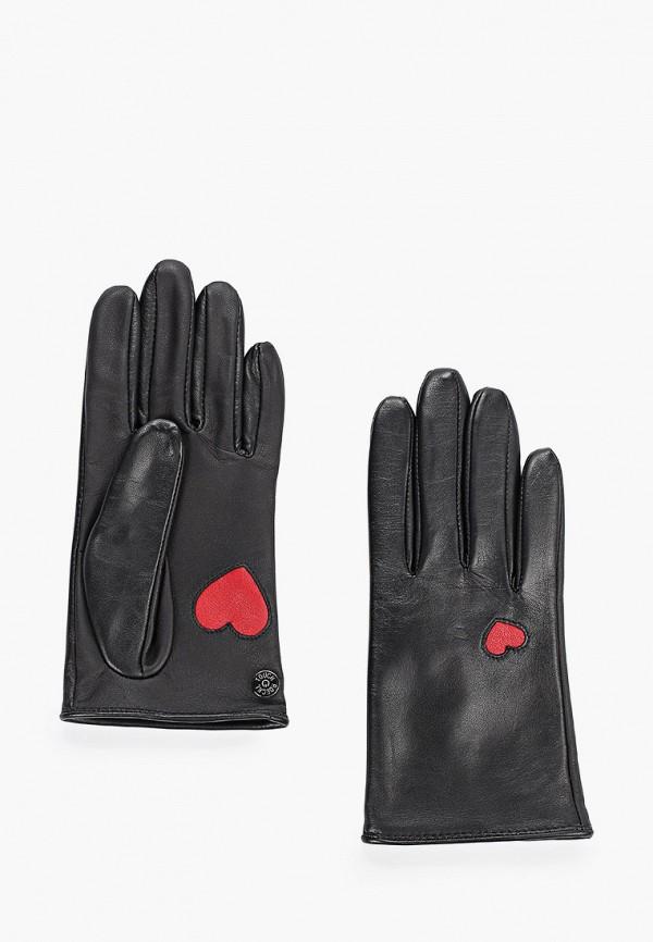 женские перчатки roeckl, черные