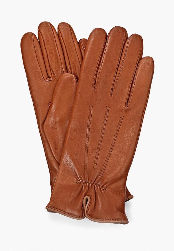 женские перчатки roeckl, коричневые