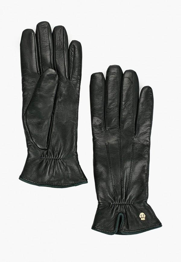 женские перчатки roeckl, зеленые