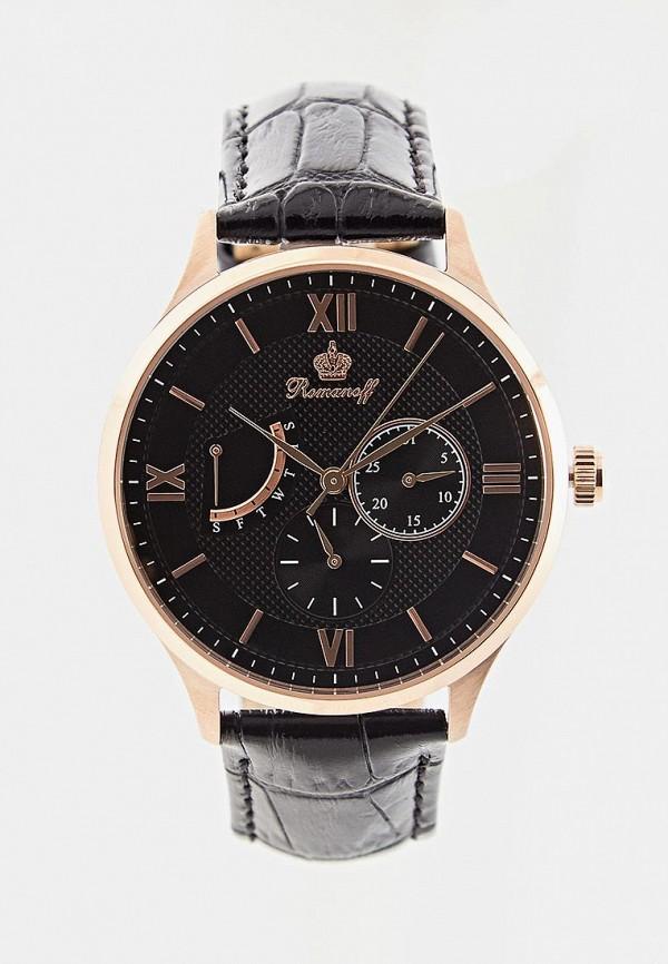 мужские часы romanoff, черные