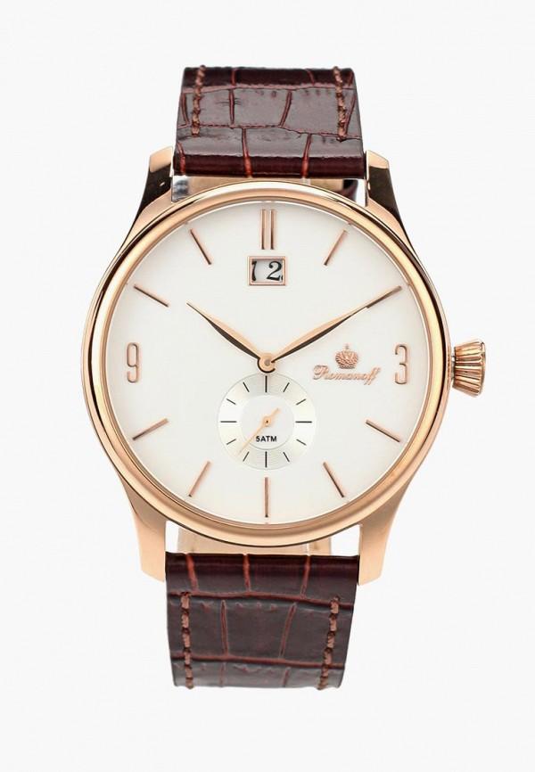 мужские часы romanoff, золотые