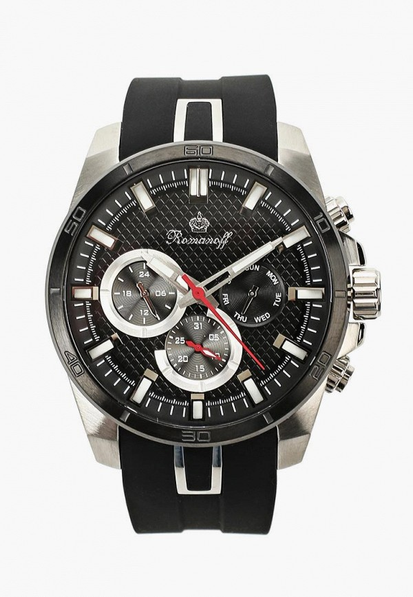 Купить Часы Romanoff, ro003dmsbs33, черный, Весна-лето 2019