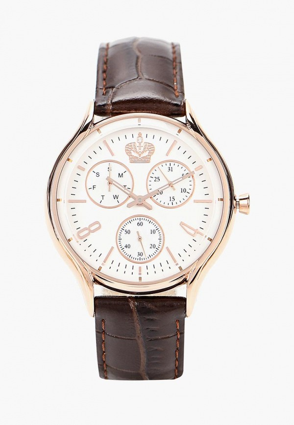мужские часы romanoff, коричневые