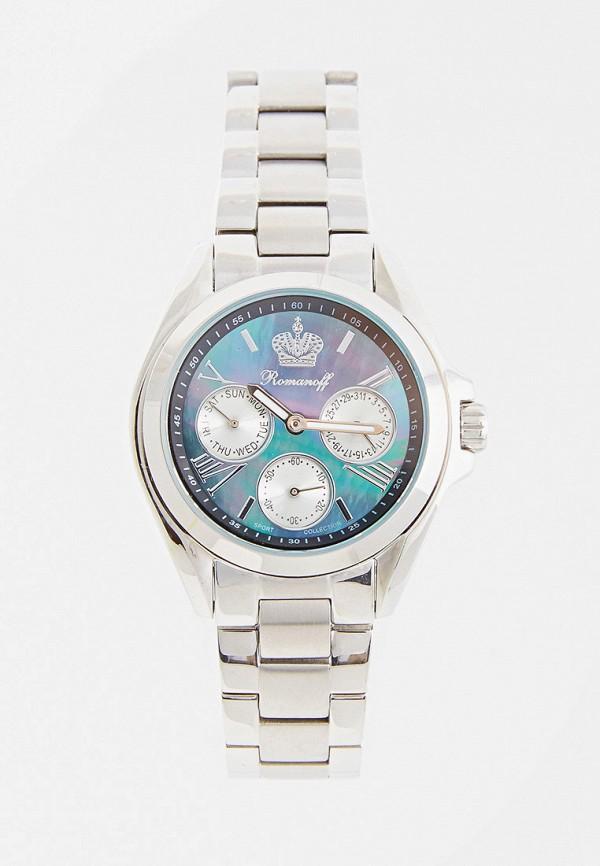 женские часы romanoff, серебряные