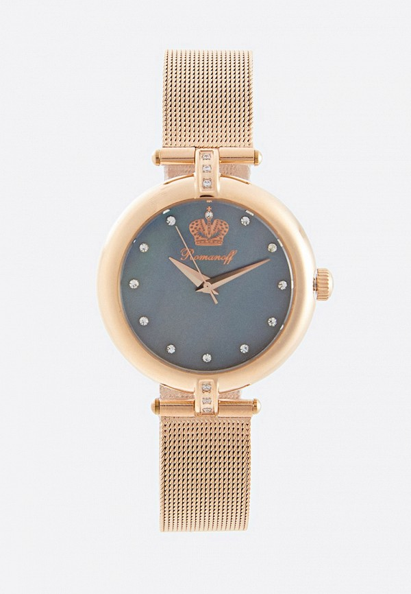 женские часы romanoff, золотые