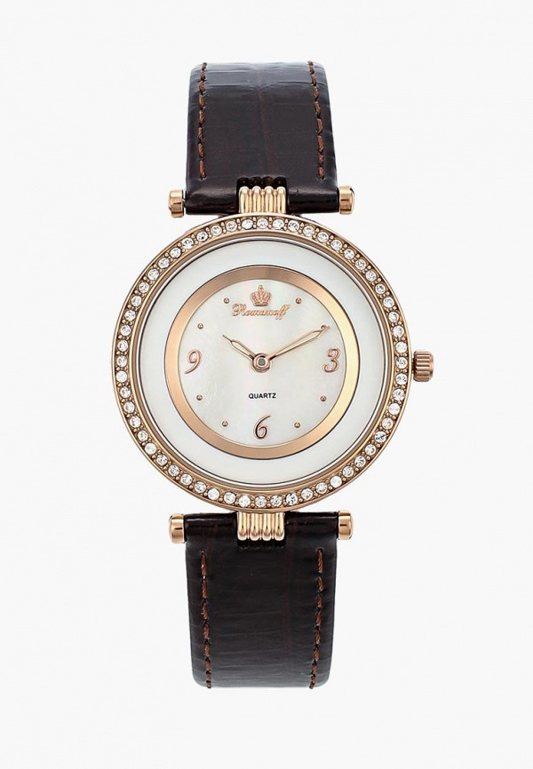 Купить Часы Romanoff, ro003dwizs60, коричневый, Весна-лето 2019