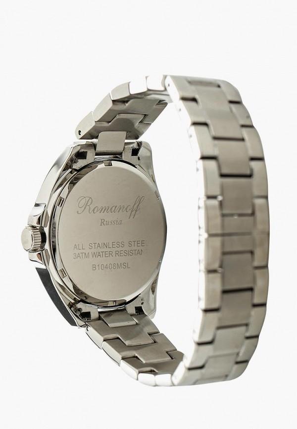 Фото 2 - Женские часы Romanoff серебрянного цвета