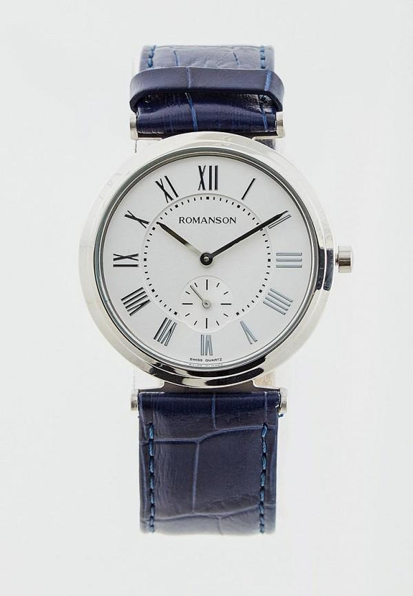 мужские часы romanson, синие