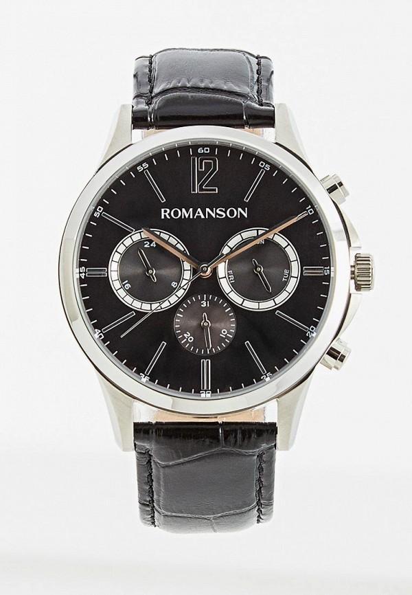 мужские часы romanson, черные