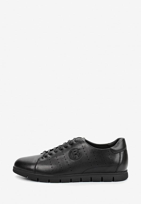 Фото - мужские кроссовки Rosconi черного цвета