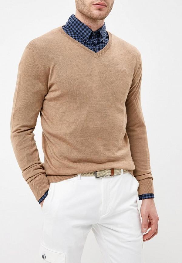 мужской пуловер rodier, бежевый