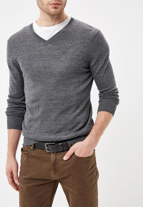 мужской пуловер rodier, серый