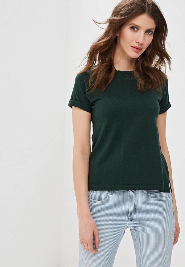 женская футболка rodier, зеленая